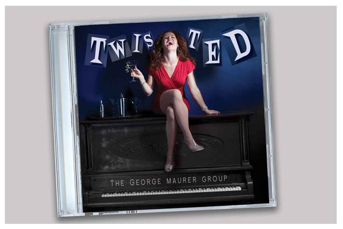 Twisted CD design